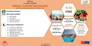 'Kırsal Turizm'e Yüzde 55 Hibe