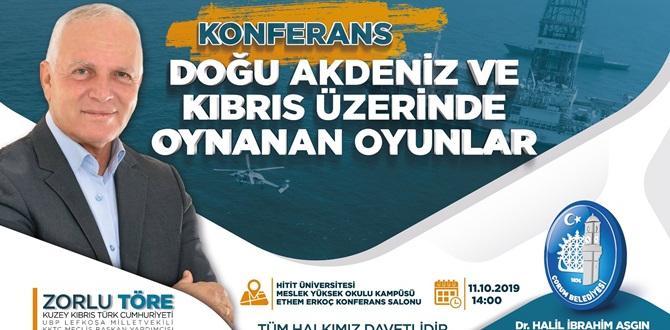 Belediyeden Kıbrıs konulu konferans