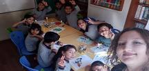 Öğrencilere EVA Çalışması Yaptırıldı