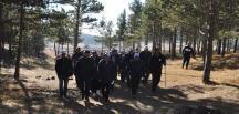 Bayat'ta Doğaya Saygı Yürüyüşü Yapıldı