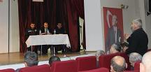 Bayat'ta, Muhtarlarla Buluşma Toplantısı Düzenlendi