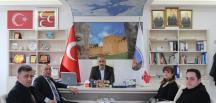 Türk Büro-Sen'den Başkan Ocaklı'ya Ziyaret