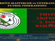 TMVFL İkinci Yarı Maçları Başlıyor