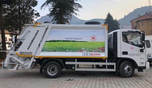 Belediyeye Yeni Bir Çöp Aracı Daha Kazandırıldı