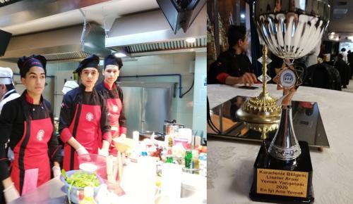 Yemek Yarışmasında Birinci Oldular
