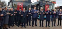 Alaca'da Yeni Halk Otobüsleri Hizmete Başladı