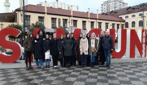 Öğrenciler Samsun'u Gezdi