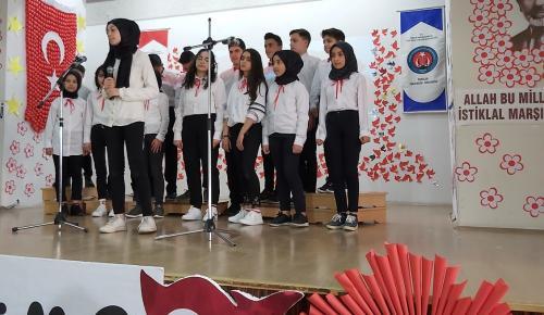 İskilip'te İstiklal Marşı'nın Kabulü Kutlandı