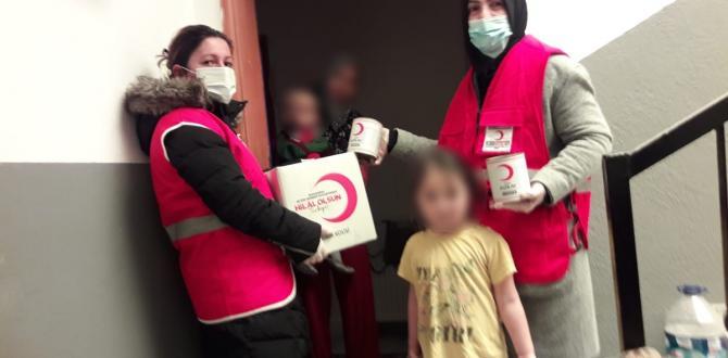 Kızılay Çorum'da 10 Bin Aileye Ulaştı