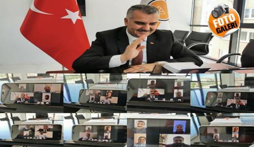 AK Parti'de Video Konferanslı Bayramlaşma