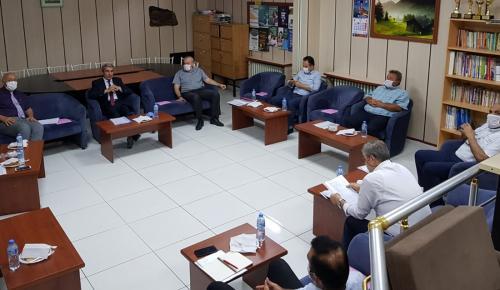 Milli Eğitim Camiası Toplantı Yaptı