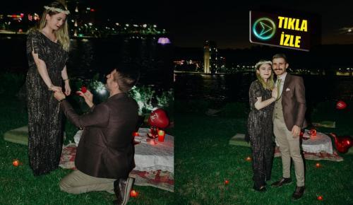 Kent Park İlginç Evlenme Teklifine Sahne Oldu