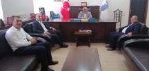 Yozgat'tan, Başkan Ünlü'ye Ziyaret
