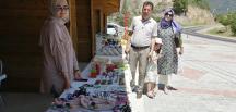 Oğuzlar'da Hanımeli Pazarı Açıldı